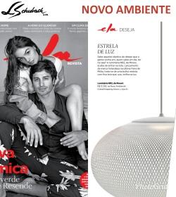 NOVO AMBIENTE na revista ELA DESEJA em 24 de setembro de 2017