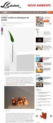 NOVO AMBIENTE no site CASA CLAUDIA em 18 de setembro de 2017