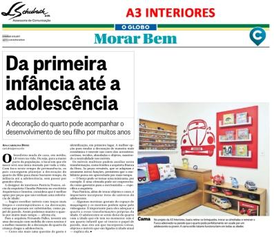 A3 INTERIORES no caderno Morar Bem do jornal O Globo em 8 de outubro de 2017 (2)