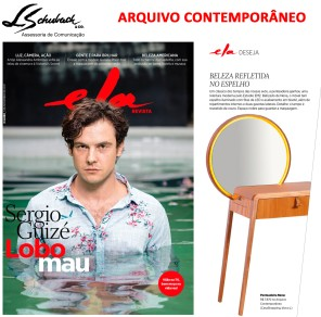 ARQUIVO CONTEMPORÂNEO na Ela Revista em 5 de novembro de 2017