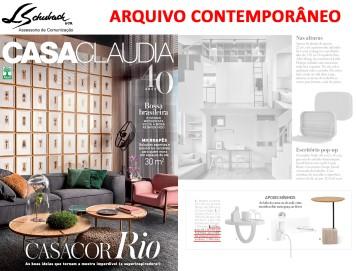 ARQUIVO CONTEMPORÂNEO na revista Casa Claudia de novembro de 2017