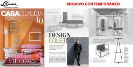 ARQUIVO CONTEMPORÂNEO na revista Casa Claudia de outubro de 2017