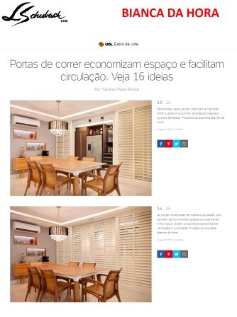 BIANCA DA HORA no portal UOL em 30 de novembro de 2017
