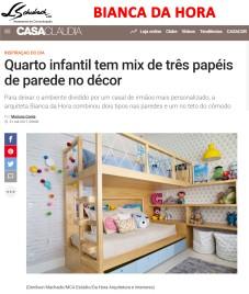 BIANCA DA HORA no site CASA CLAUDIA postado em 31 de outubro de 2017