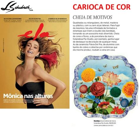 CARIOCA DE COR no caderno ELA REVISTA em 26 de novembro de 2017