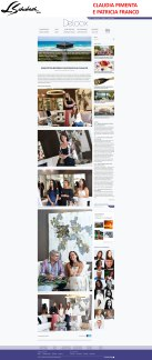 CLAUDIA PIMENTA E PATRICIA FRANCO no site DELOOX em 30 de novembro de 2017