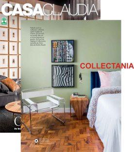 COLLECTANIA na revista CASA CLAUDIA de novembro de 2017