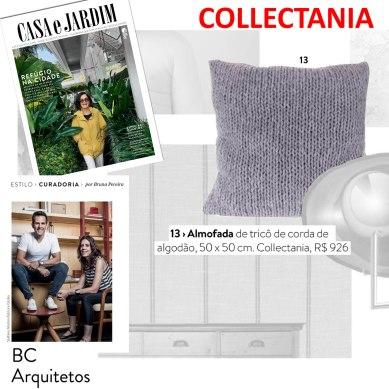 COLLECTANIA na revista CASA E JARDIM em novembro de 2017