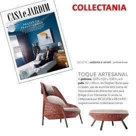 COLLECTANIA na revista CASA E JARDIM em OUTUBRO de 2017