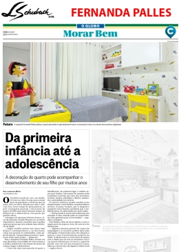 FERNANDA PALLES no caderno MORAR BEM, do jornal O GLOBO, em 8 de outubro de 2017