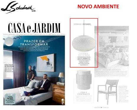 NOVO AMBIENTE na revista CASA E JARDIM em OUTUBRO de 2017 (2)
