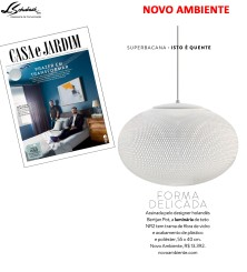 NOVO AMBIENTE na revista CASA E JARDIM em OUTUBRO de 2017