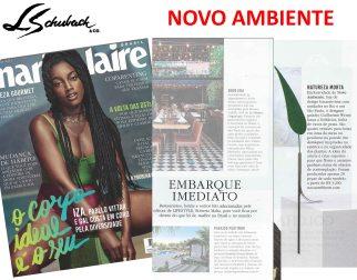 NOVO AMBIENTE na revista MARIE CLAIRE de novembro de 2017