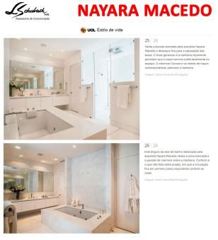 Projeto da arquiteta NAYARA MACEDO no Uol em 21 de novembro de 2017