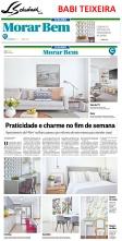 BABI TEIXEIRA no caderno MORAR BEM, do jornal O GLOBO, em 17 de dezembro de 2017