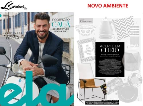 NOVO AMBIENTE na revista ELA, do jornal O Globo, em 17 de dezembro de 2017 - parte 2