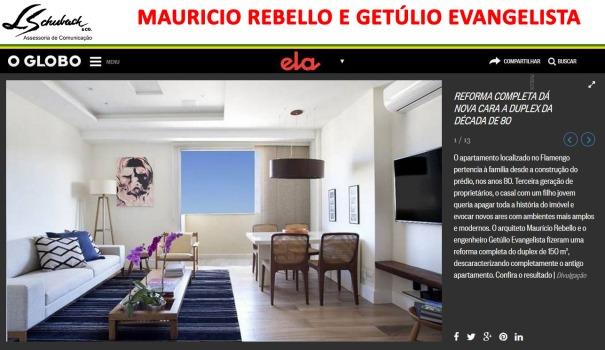 Projeto da dupla MAURICIO REBELLO e GETÚLIO EVANGELISTA no Ela Digital em 11 de dezembro de 2017