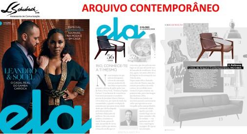 ARQUIVO CONTEMPORÂNEO na Ela Revista em 21 de janeiro de 2018