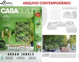ARQUIVO CONTEMPORÂNEO na revista Casa Claudia de janeiro de 2018