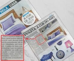 BIANCA DA HORA no caderno BELA CASA, do JORNAL EXTRA em 6 de janeiro de 2018 (2)