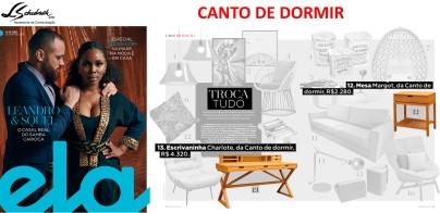 CANTO DE DORMIR na Ela Revista em 21 de janeiro de 2018