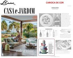 CARIOCA DE COR na revista CASA E JARDIM em janeiro de 2018 (2)