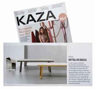 COLLECTANIA na revista KAZA verão de 2018