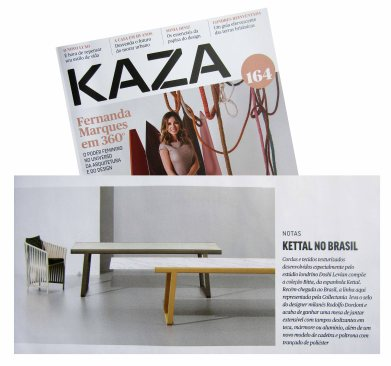 COLLECTANIA na revista KAZA verão de 2018