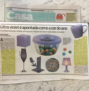 Depoimento do arquiteto FABIANO RAVAGLIA no caderno Casa do jornal O Dia em 21 de janeiro de 2018 (2)