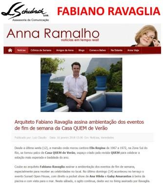 Fabiano Ravaglia no blog da Anna Ramalho postado em 16 de janeiro de 2018