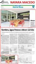 Projeto da arquiteta NAYARA MACEDO no caderno Morar Bem do jornal O Globo em 21 de janeiro de 2018_2