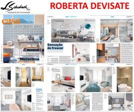Projeto da designer de interiores ROBERTA DEVISATE no caderno Casa do Estado de São Paulo em 14 de janeiro de 2018