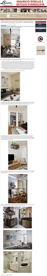Projeto da dupla MAURICIO REBELLO e GETULIO EVANGELISTA no blog As Arquitetas em 8 de janeiro de 2018