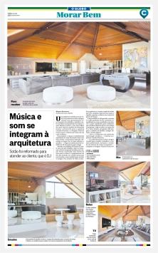 CLAUDIA PIMENTA e PATRICIA FRANCO no MORA BEM do jornal O GLOBO de 18 de fevereiro de 2018