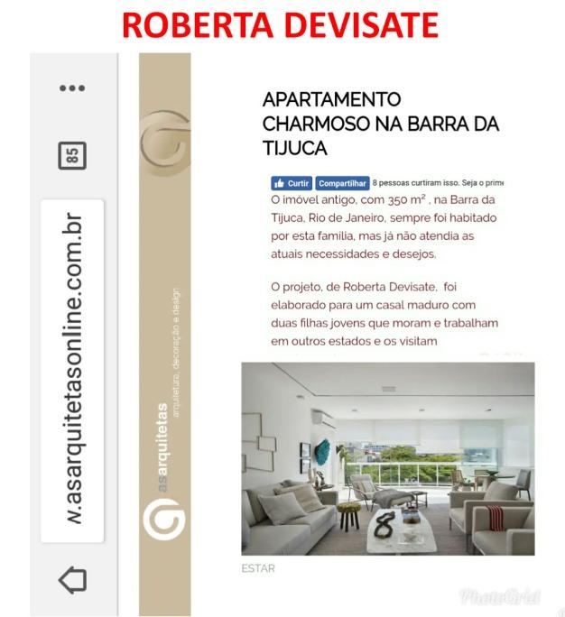 Projeto assinado pela designer de interiores ROBERTA DEVISATE no blog As Arquitetas em 19 de fevereiro de 2018