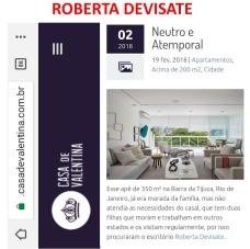 Projeto assinado pela designer de interiores ROBERTA DEVISATE no blog Casa de Valentina em 19 de fevereiro de 2018