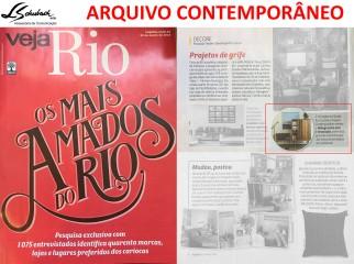 ARQUIVO CONTEMPORÂNEO na revista Veja Rio de 21 de março de 2018