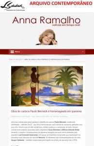 ARQUIVO CONTEMPORÂNEO no blog da Anna Ramalho em 5 de março de 2018