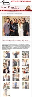 ARQUIVO CONTEMPORÂNEO no portal Anna Ramalho em 7 de março de 2018