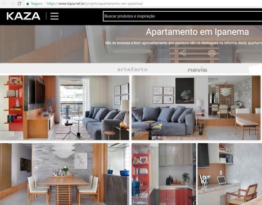 BIANCA DA HORA no portal da REVISTA KAZA publicado em 8 de março de 2018
