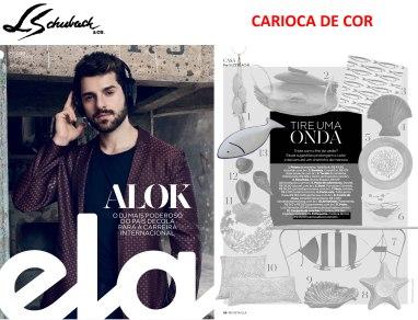 CARIOCA DE COR no Caderno ELA em 25 de março de 2018
