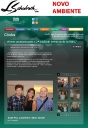 NOVO AMBIENTE no portal MICHELE MARIE em 23 de março de 2018