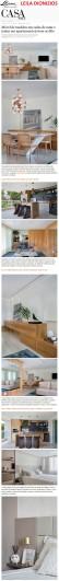 Projeto da arquiteta LEILA DIONIZIOS no site da Casa Vogue em 15 de março de 2018