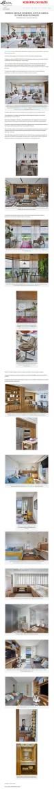 Projeto da designer de interiores ROBERTA DEVISATE no site Conexão Decor em 11 de março de 2018