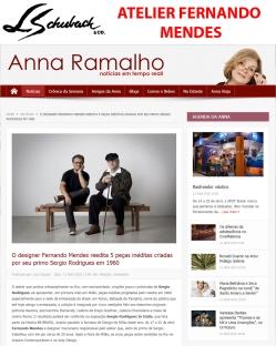 ATELIER FERNANDO MENDES no site ANNA RAMALHO em 13 de abril de 2018