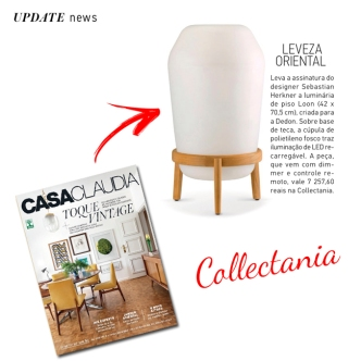 COLLECTANIA na revista CASA CLAUDIA em abril de 2018