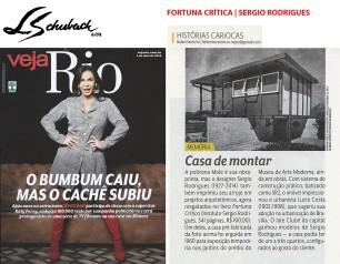FORTUNA CRITICA - SERGIO RODRIGUES na Veja Rio de 01 de abril de 2018