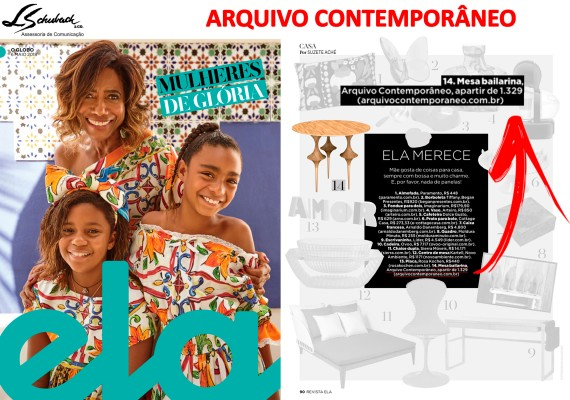 ARQUIVO CONTEMPORÂNEO na revista Ela do jornal O Globo de 6 de maio de 2018_3