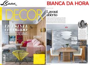 BIANCA DA HORA na revista Decor de maio de 2018