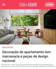 BIANCA DA HORA no site CASA E JARDIM em 25 de maio de 2018 - insta